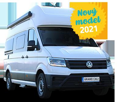 VW Grand California + klimatizace & solár